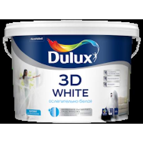 Dulux 3D White / Дулюкс 3Д Ослепительно белая краска с частицами мрамора